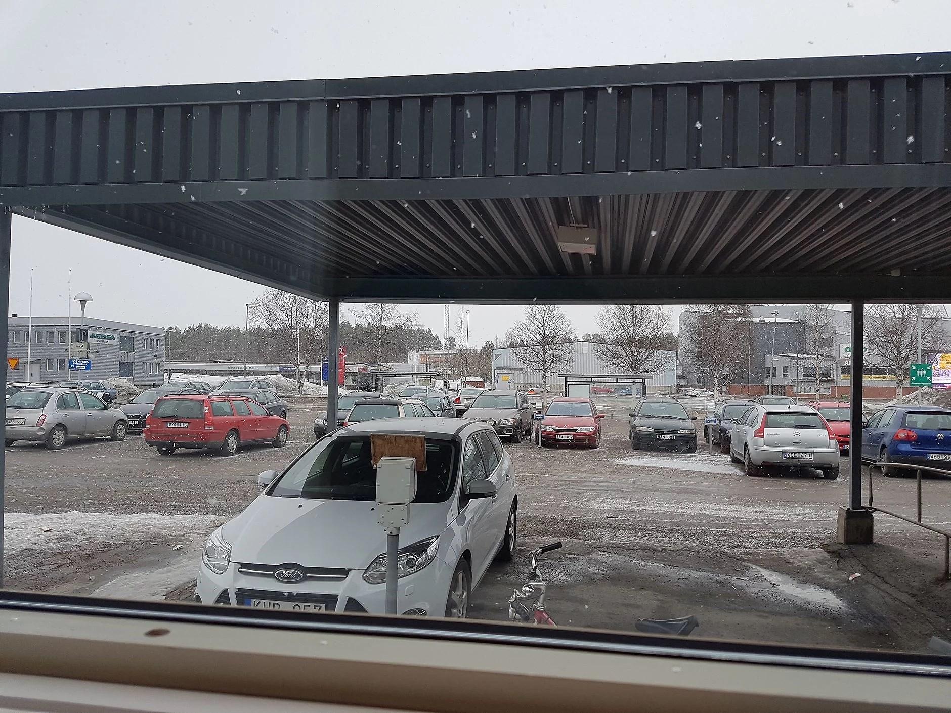 Aprilväder... :/