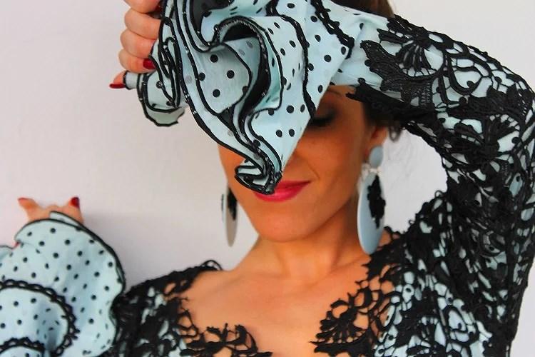 Una sensación única gracias a Belúlah con uno de mis trajes de flamenca favoritos.