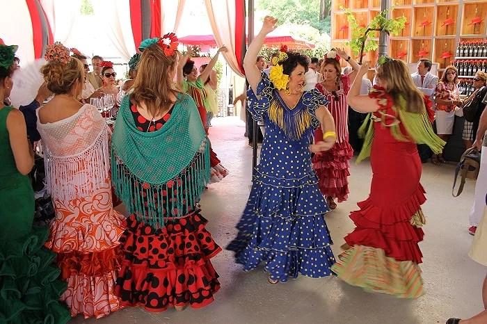 Auténtica pasión por el flamenco en la Feria del Caballo
