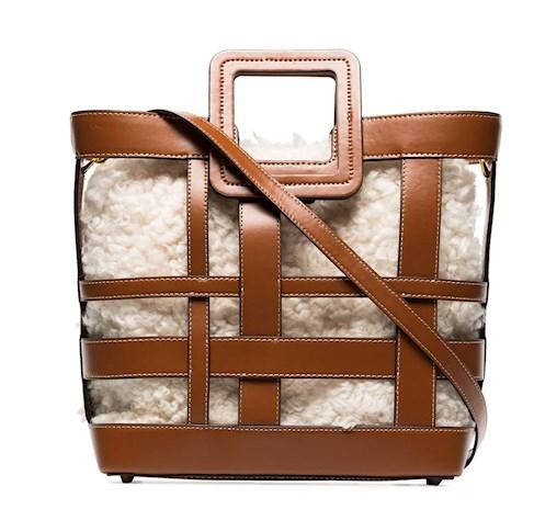 staud bag, farfetch, shirley bag, trendy bag