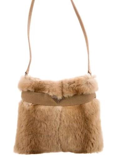 fur prada evening bag under $250