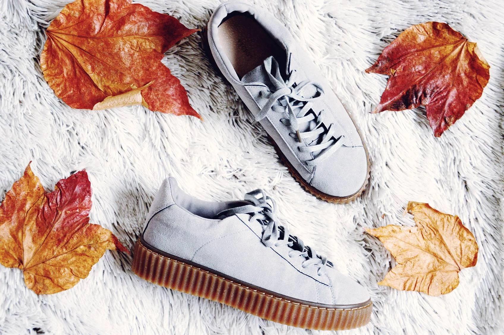 merg, buty, creppersy, jesień