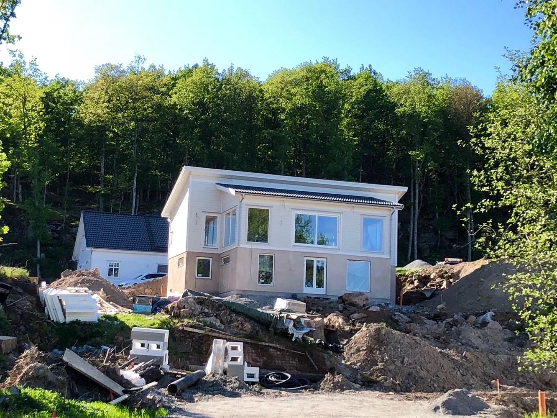 Slutbesiktning och slutsamråd av det nybyggda huset