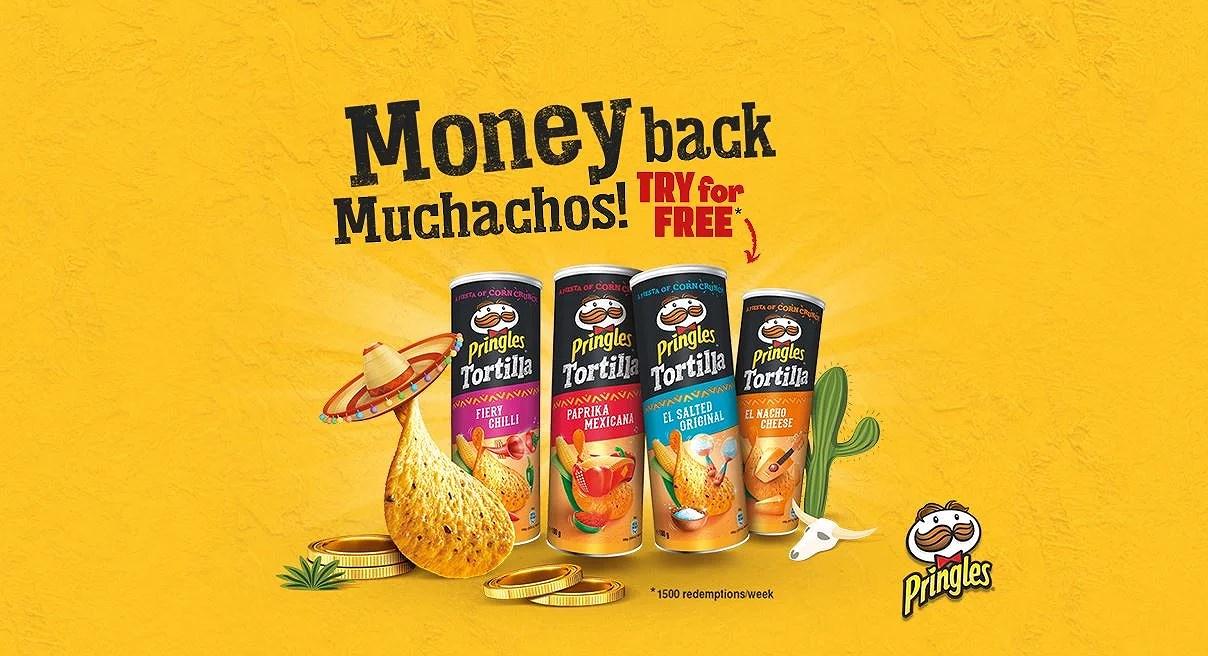 Gratis Pringles Tortilla!