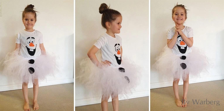 Fastelavnskostume... Olaf - prinsesse