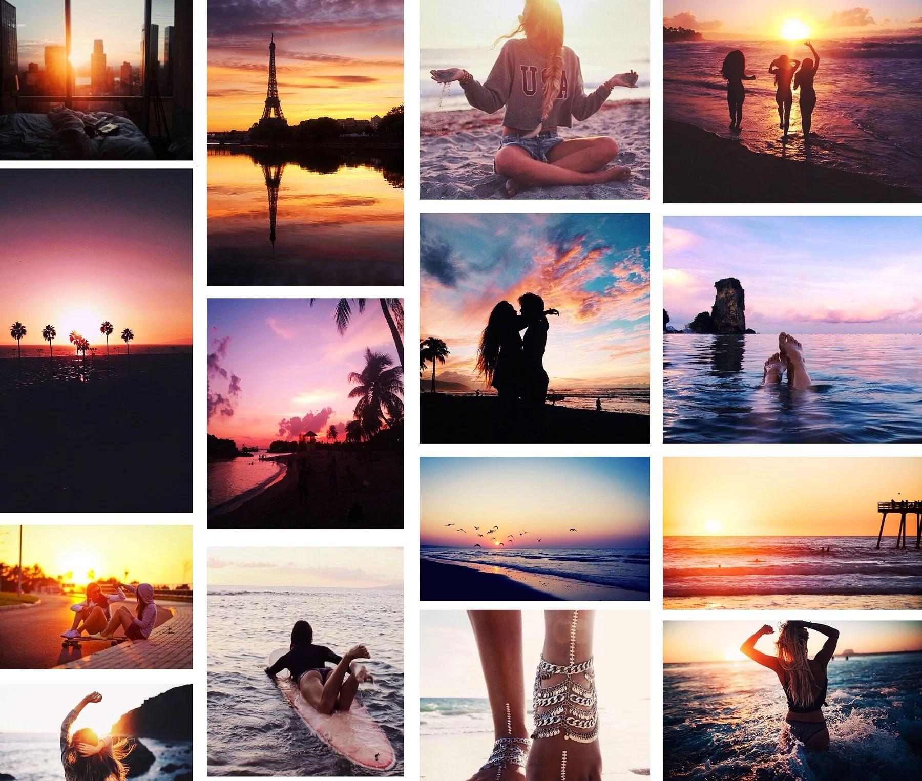 Tisdagsinspiration - A backlight of sunsets