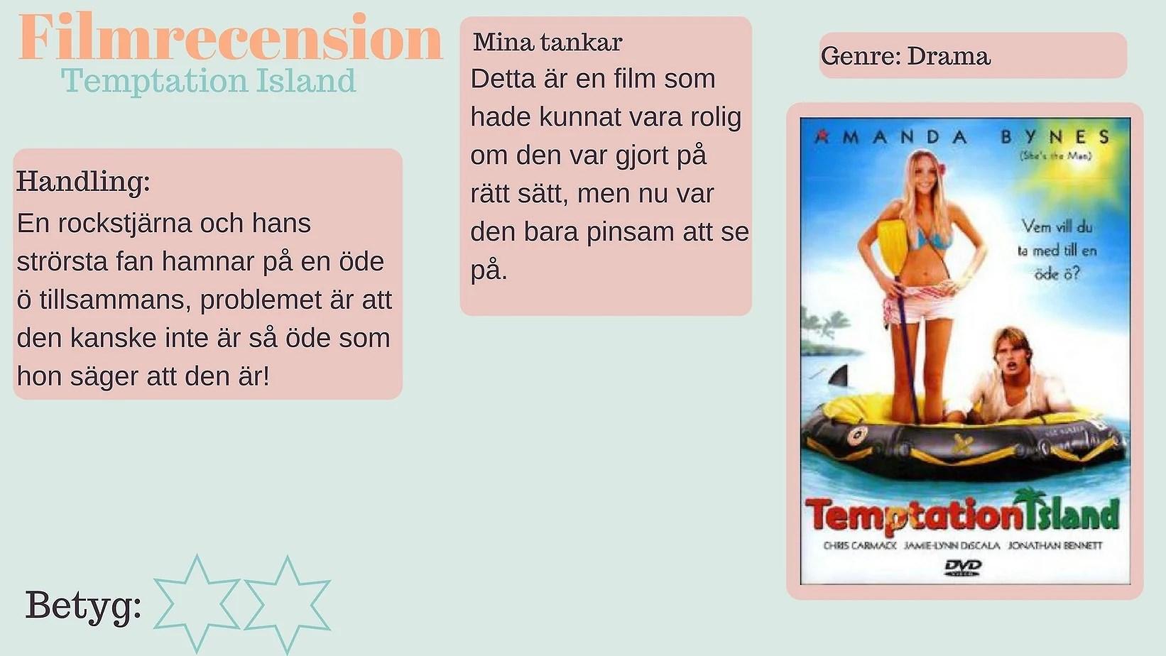 filmrecension - Temptation Island