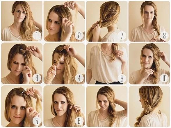olika frisyrer tips