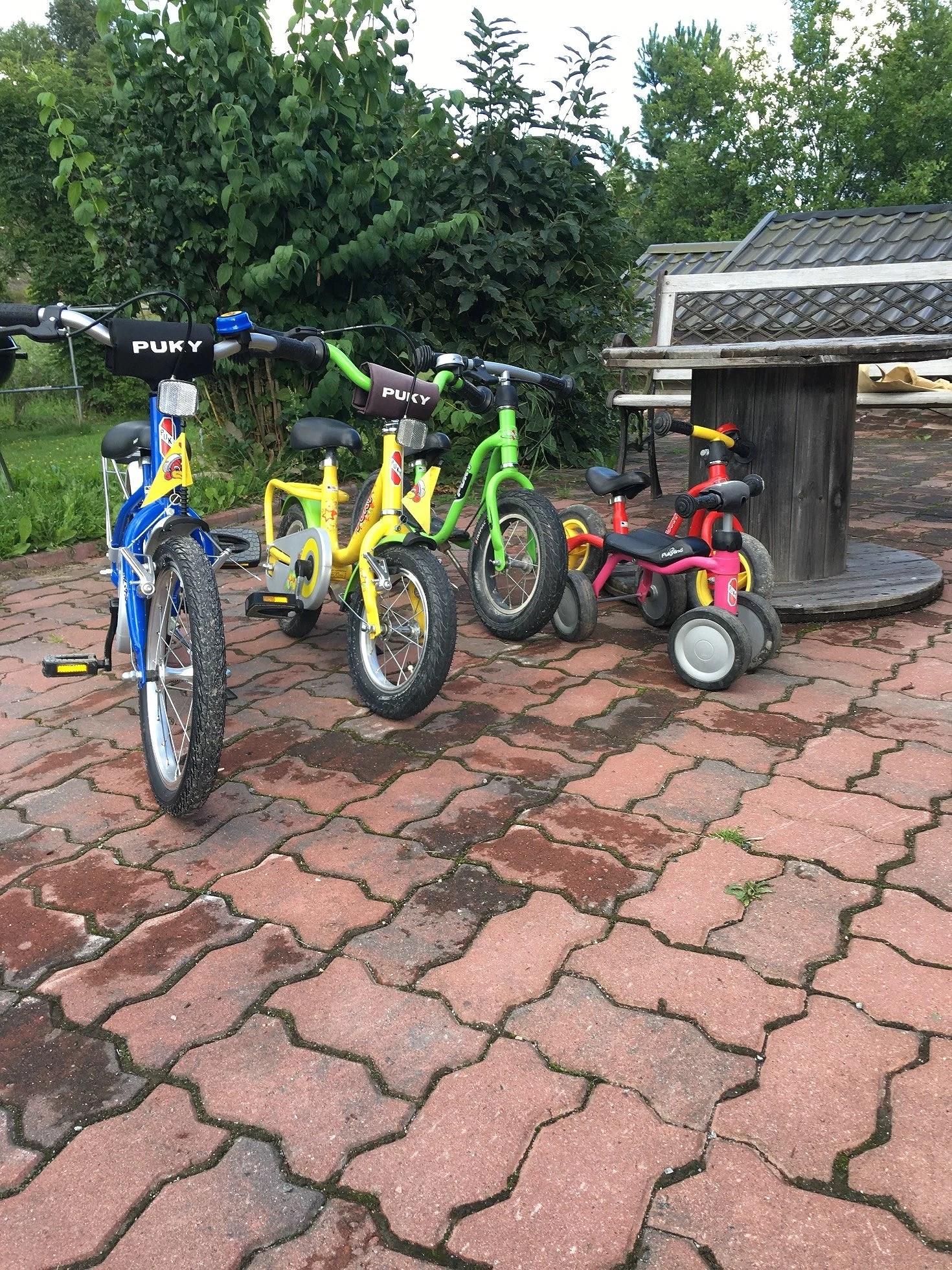 Att lära sig cykla
