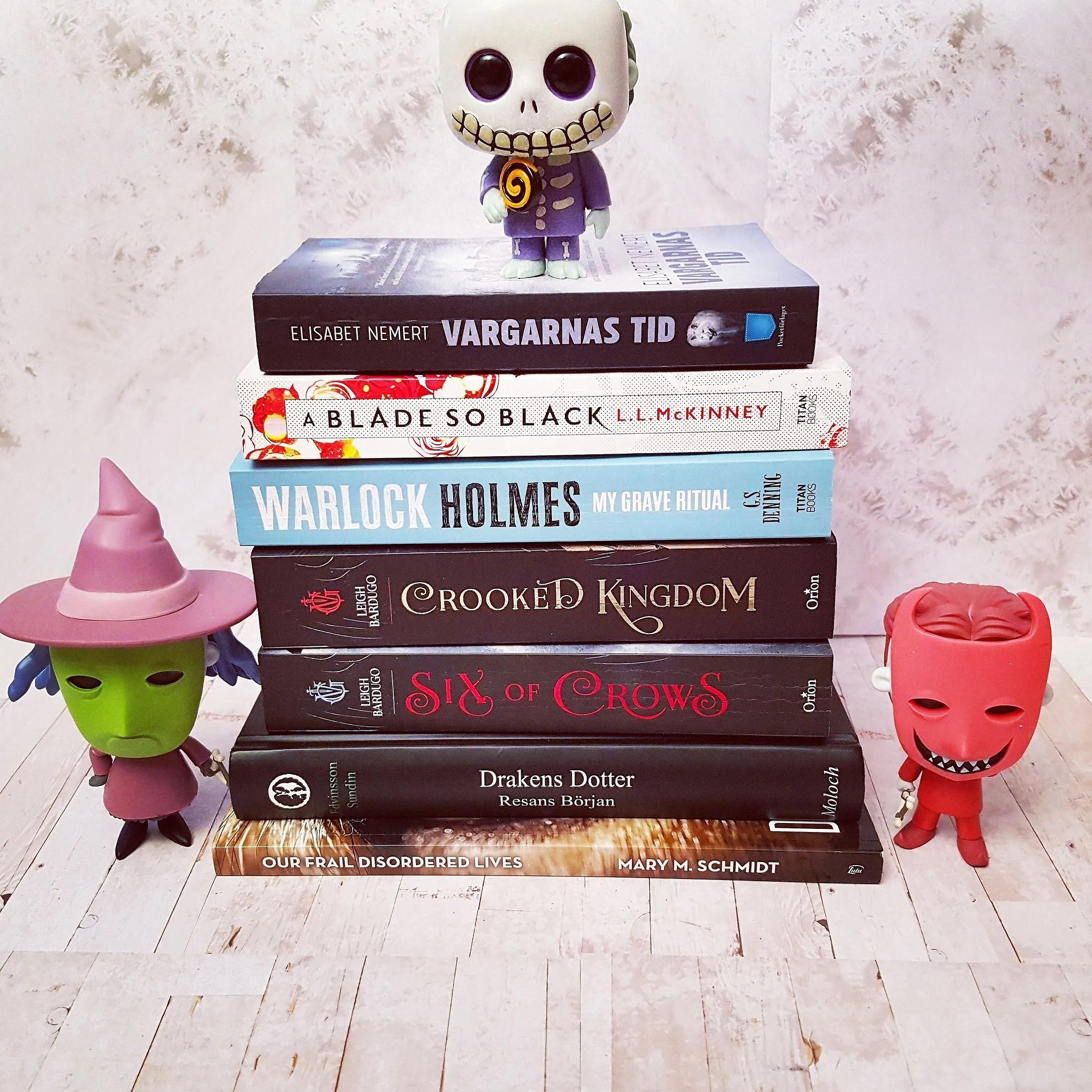 Alla lästa böcker i januari/All the books I read in January