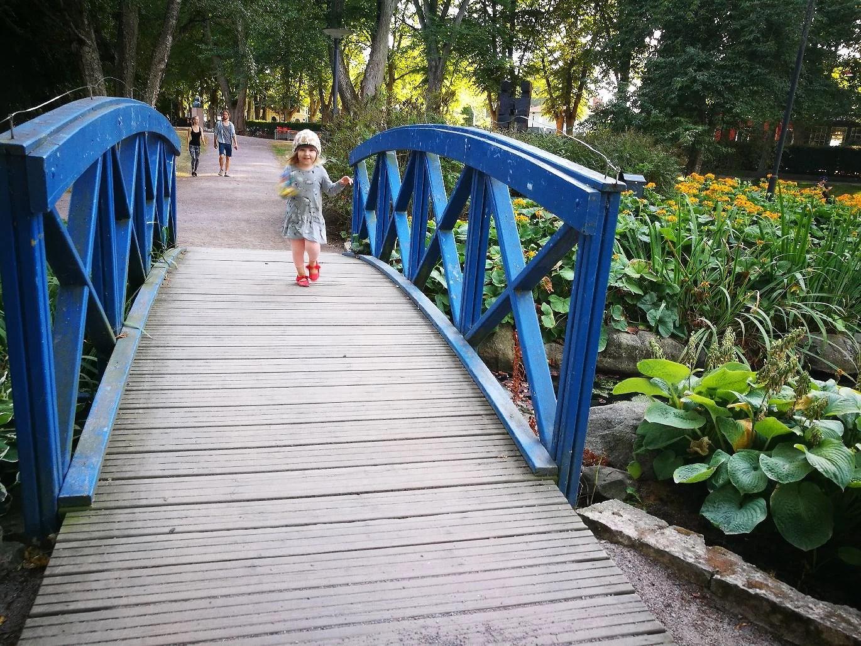 i parken:)