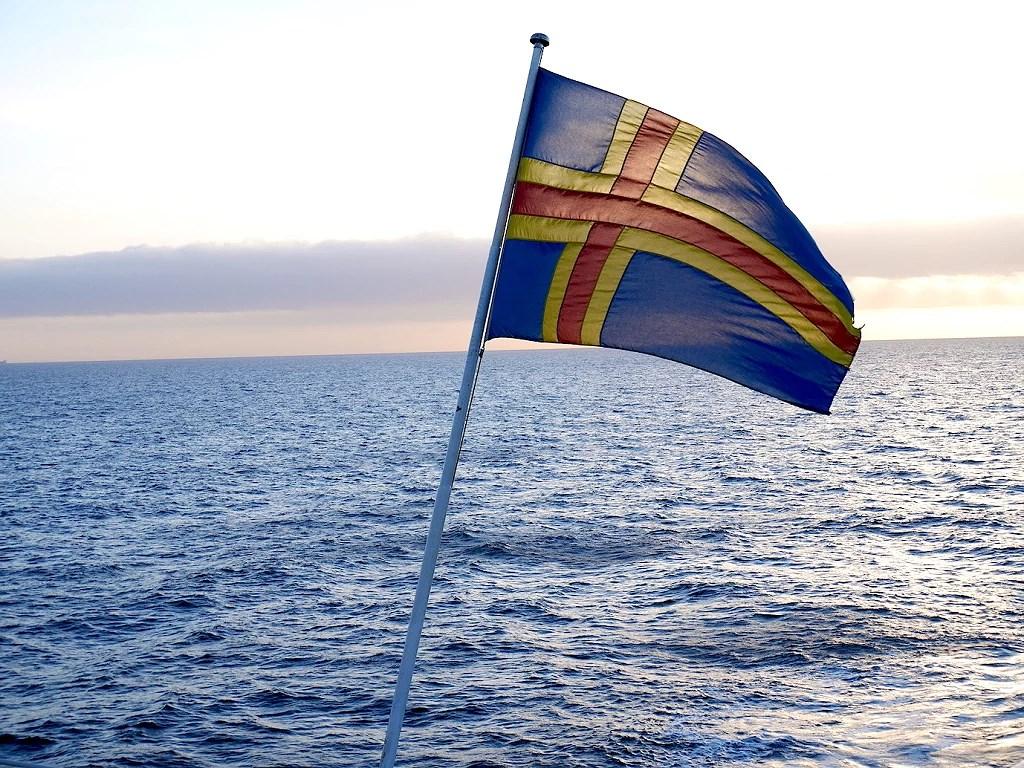 Åland över jul