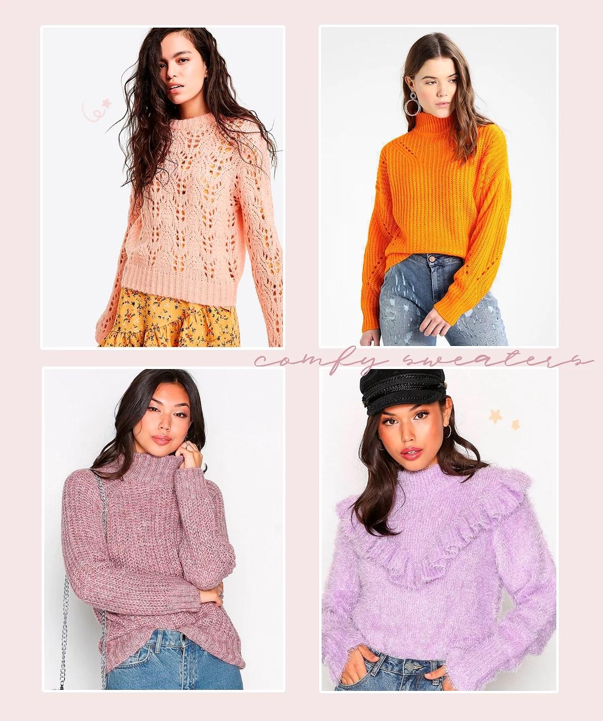 4 warm sweaters