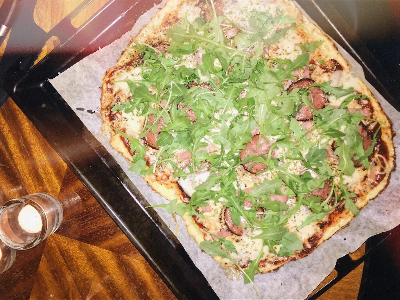 Blomkålspizza & abstinens