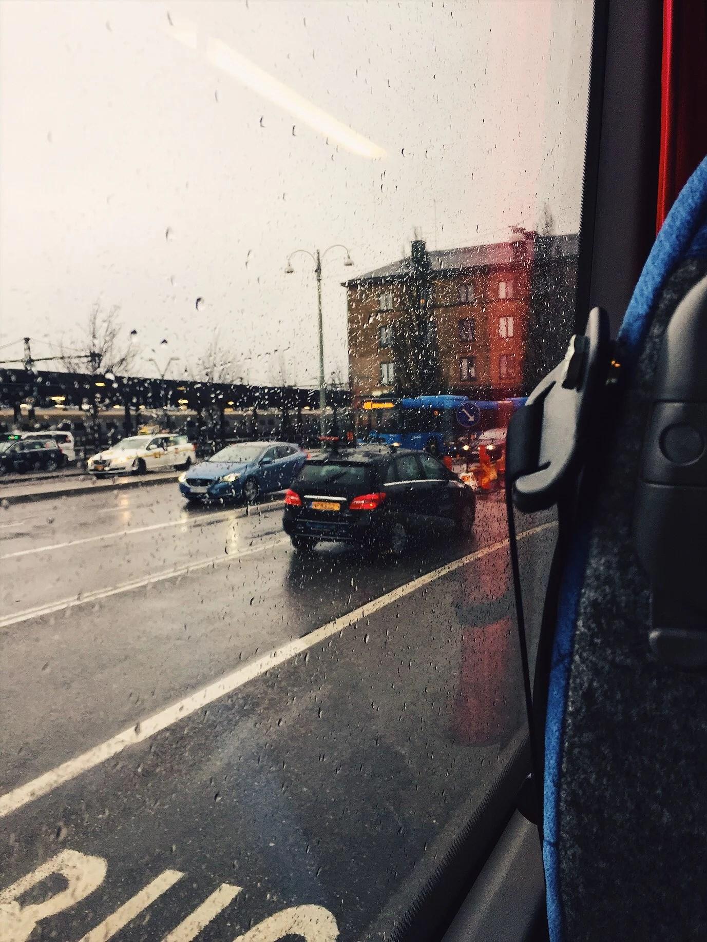 Dåligt väder, intervaller och dans