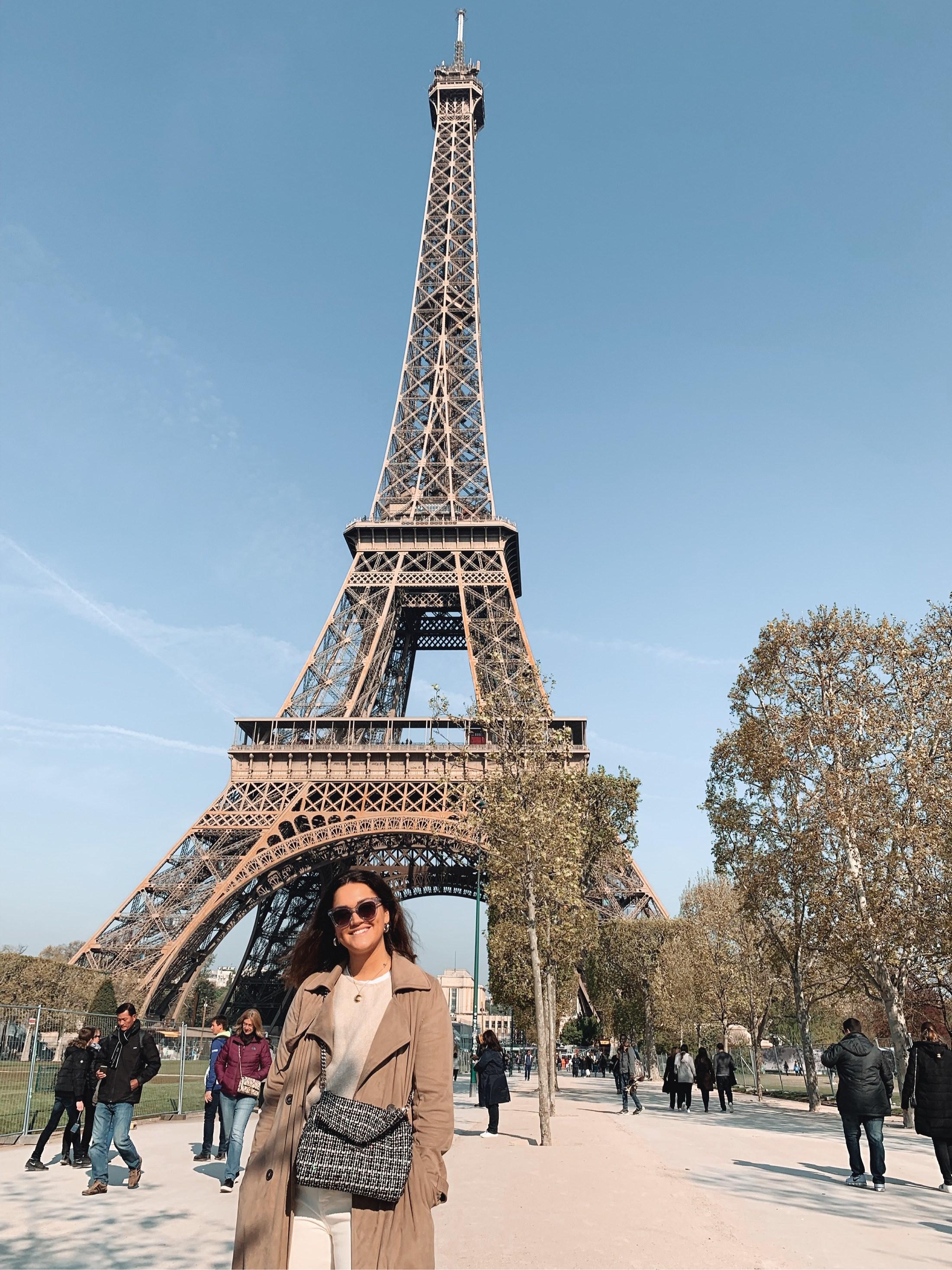 Eiffeltornet & Louvren