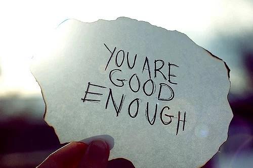 Jeg er bra nok
