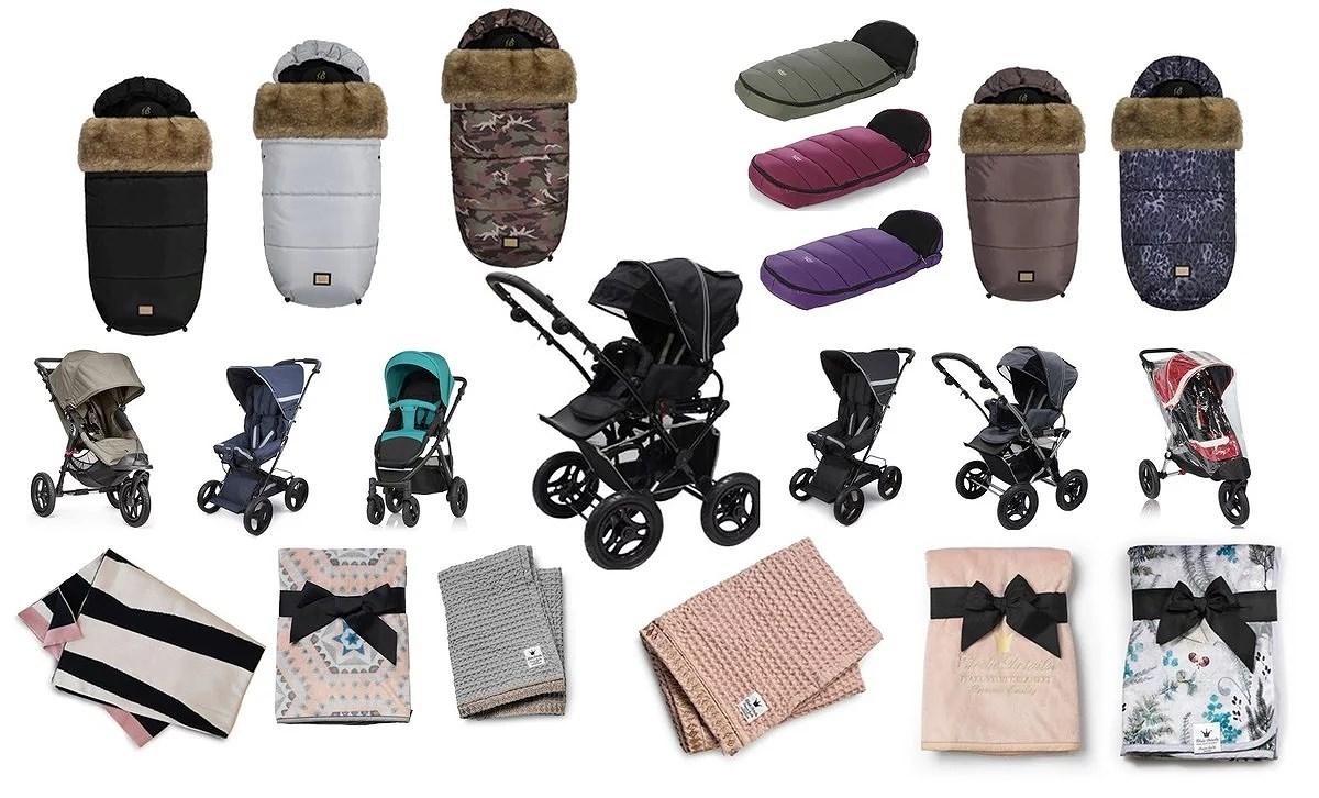 F Y N D A  - barnvagnar, åkpåsar, filtar