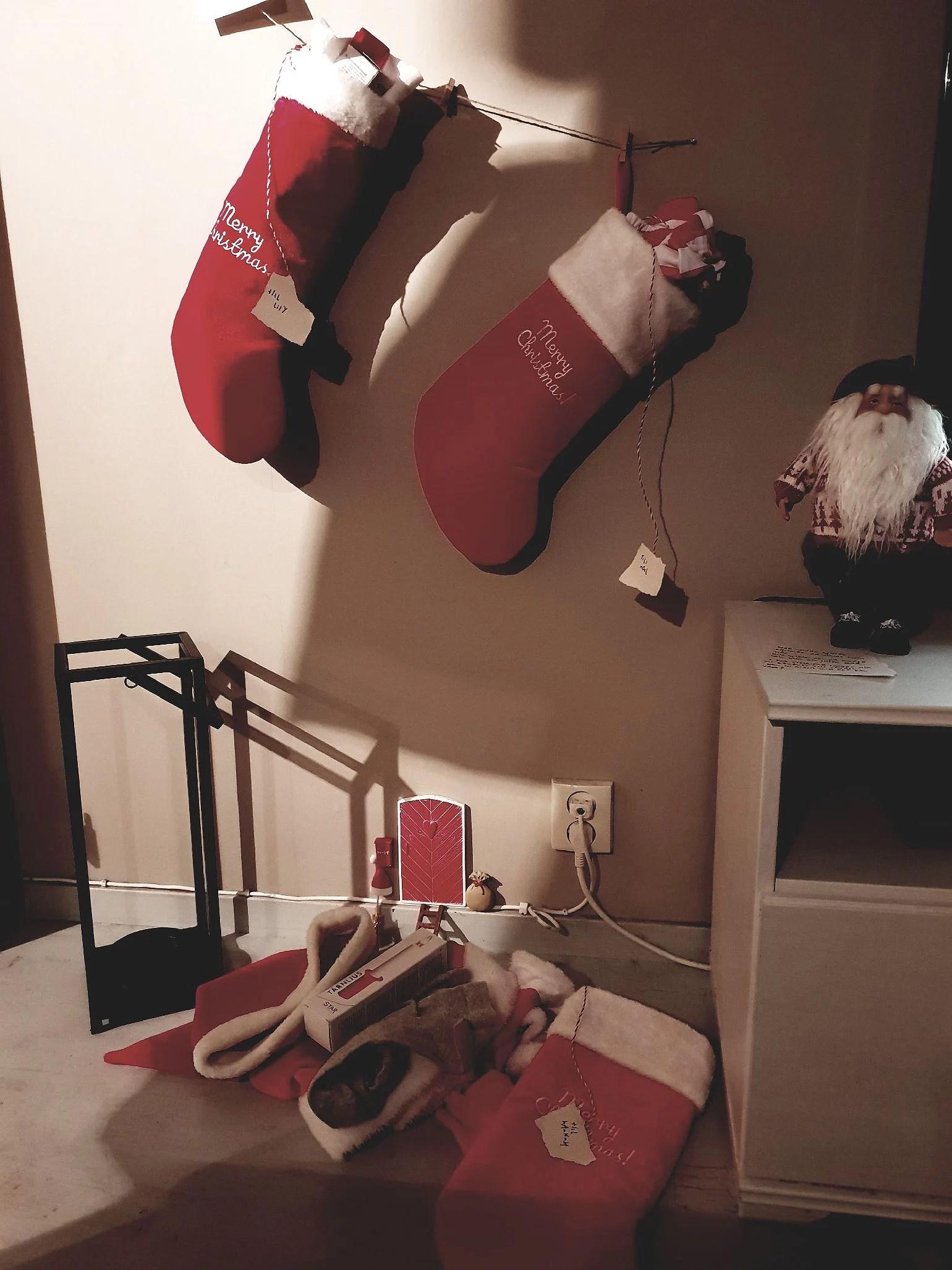 Meddelande från Julnissen
