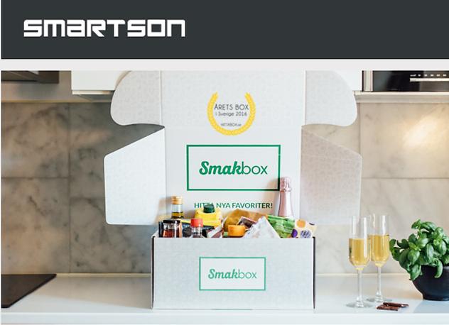 Testa Smakbox för 129 kr via Smartson