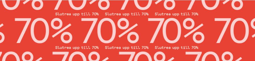 Slutrea på Åhlens och 25 procent
