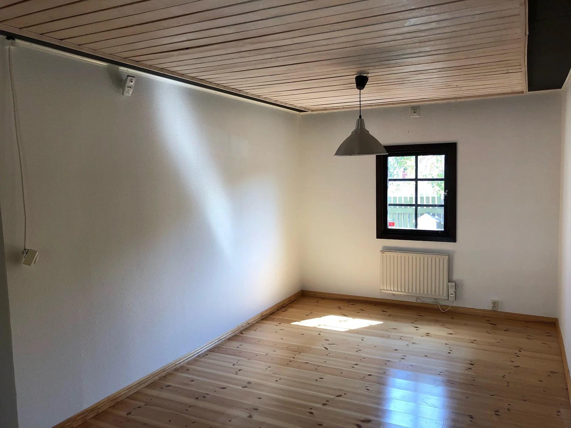 Vårt nya sovrum!