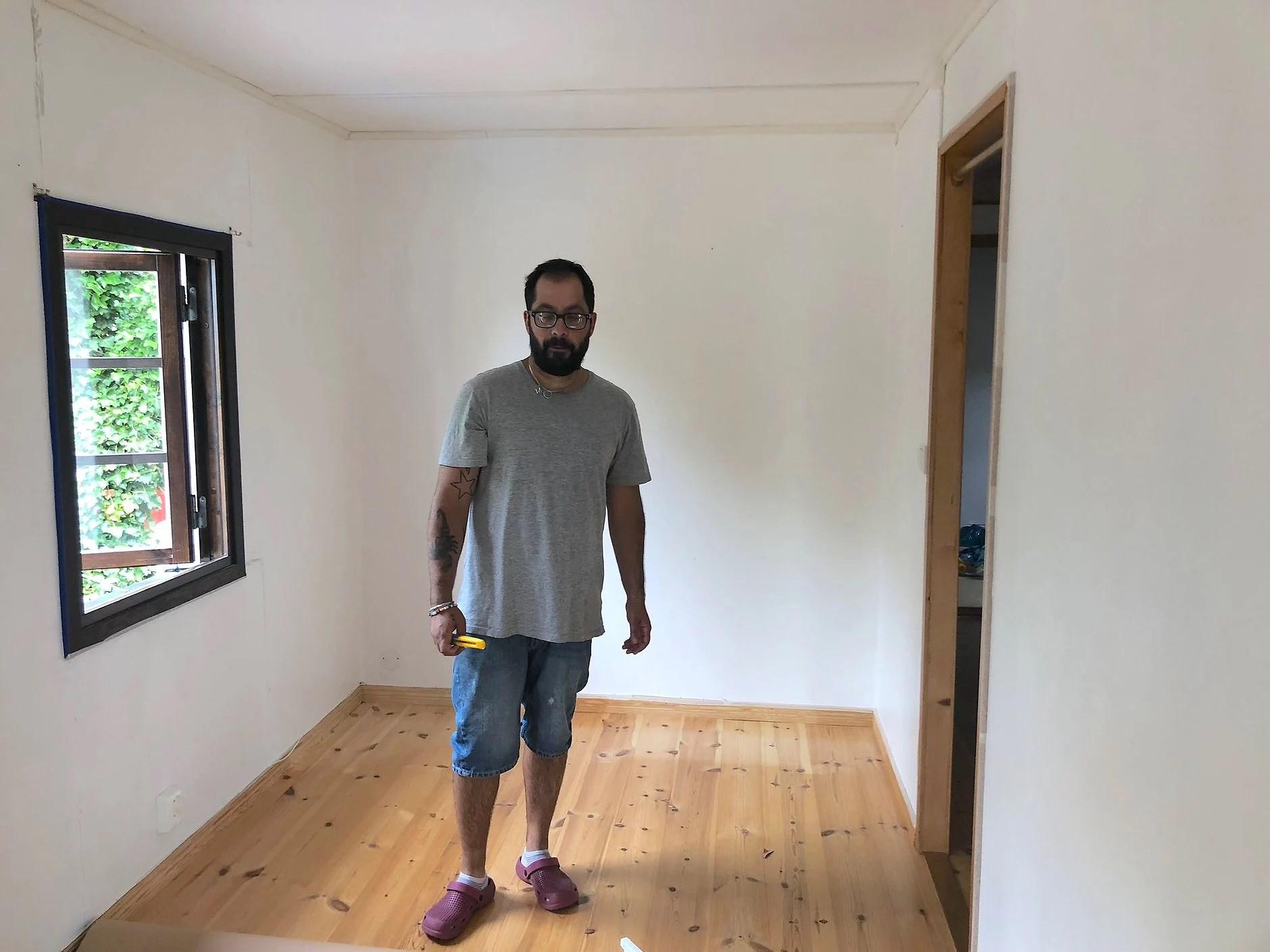 Vår Walk in closet!