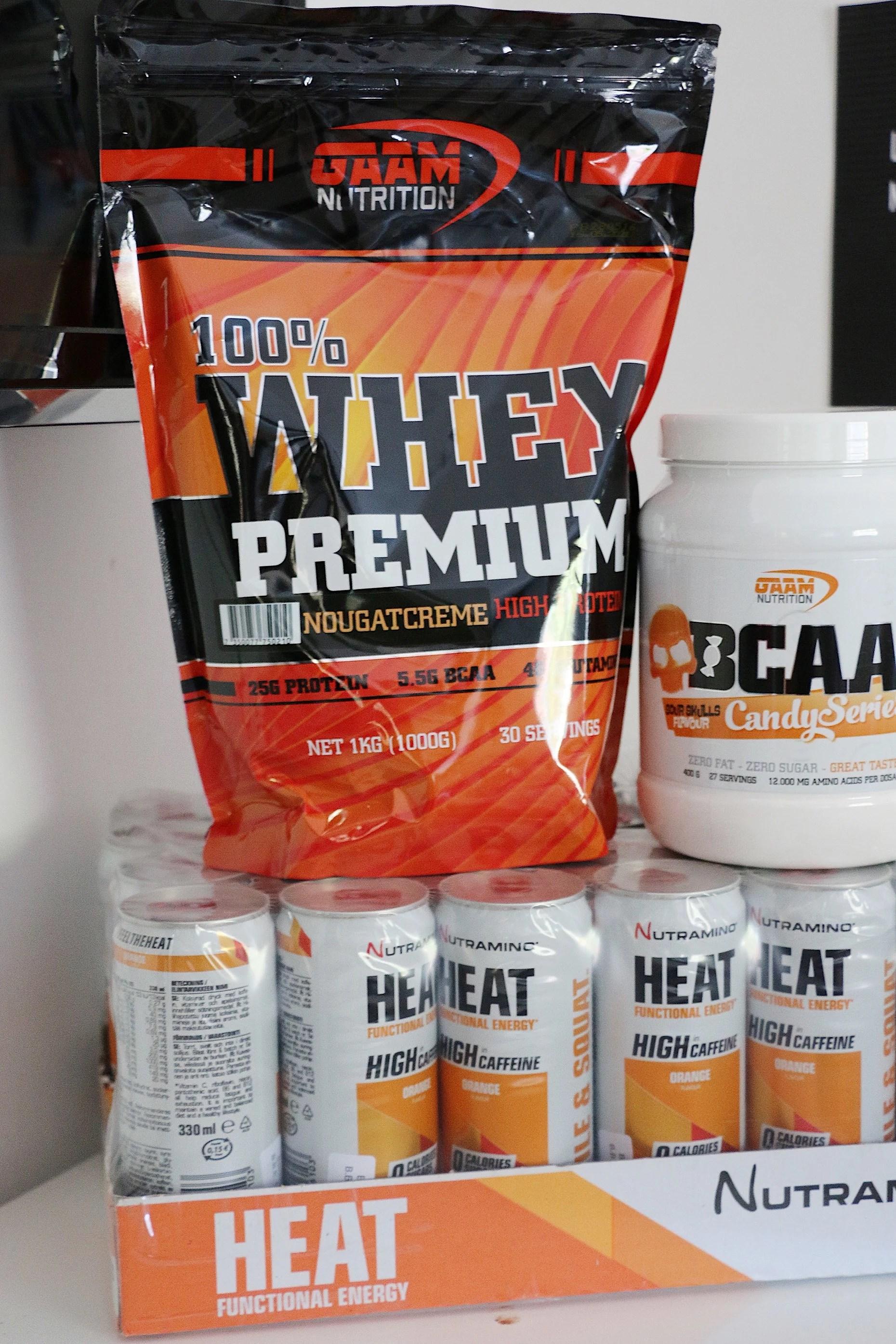 Axelpass & paket från proteinbolaget