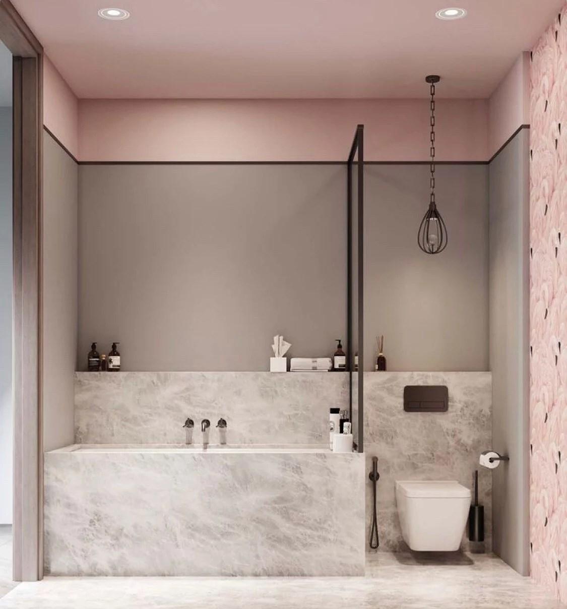 Tre badrum renoveras