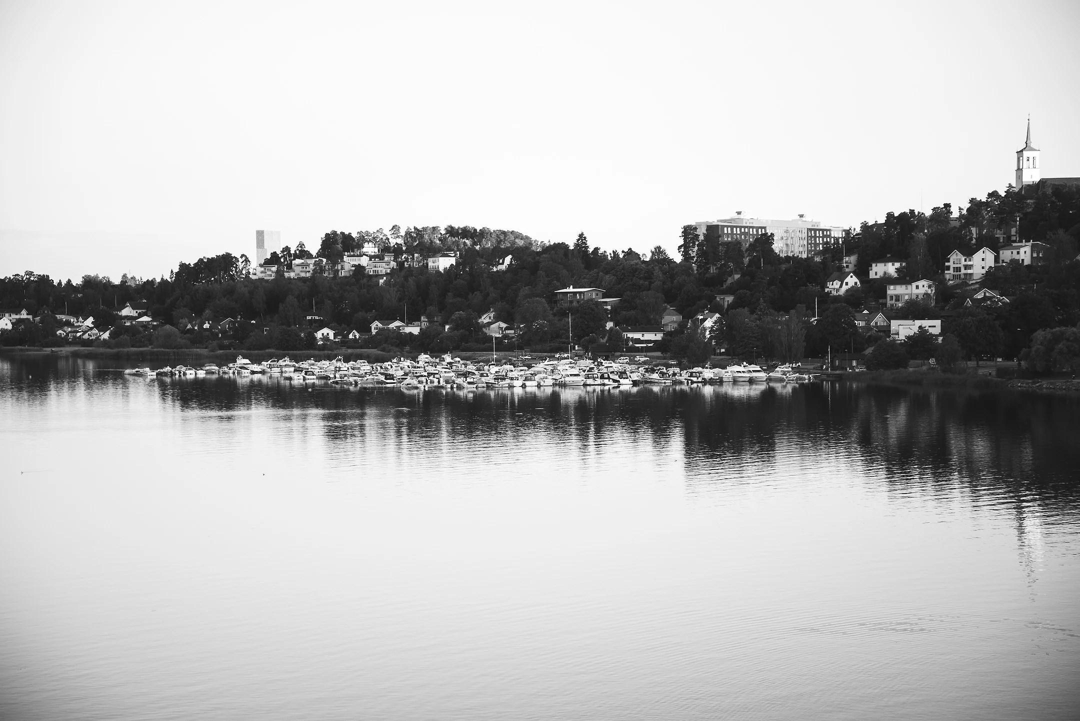 Kvällspromenad vid vattnet