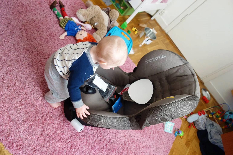 Ny bilstol & bullfika!