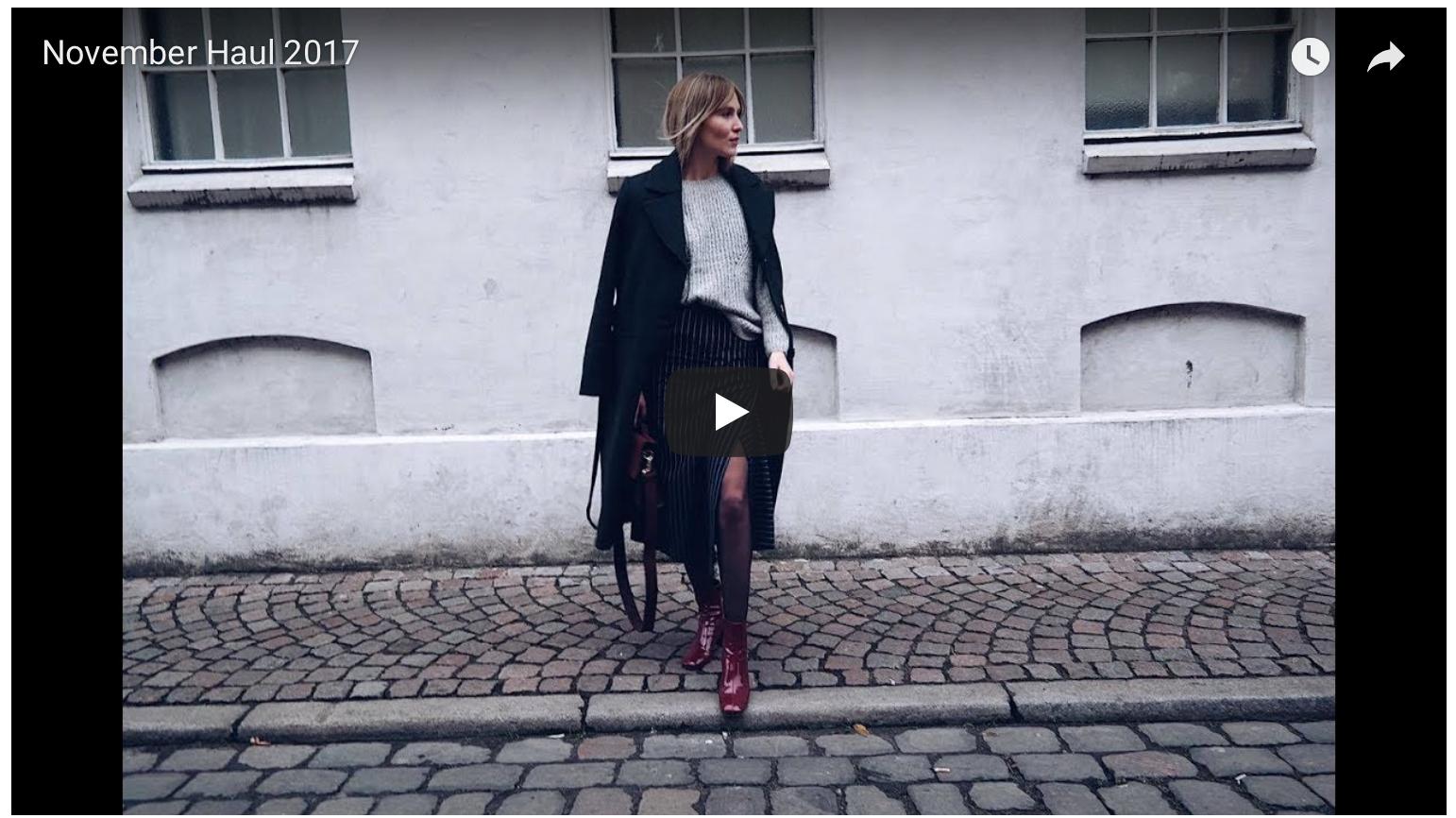 November Haul // Video