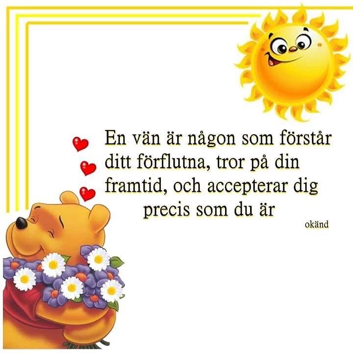 God morgon kära vänner