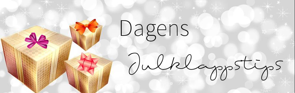 Dagens Julklappstips under november.