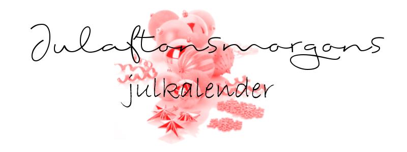 Min Julkalender!!
