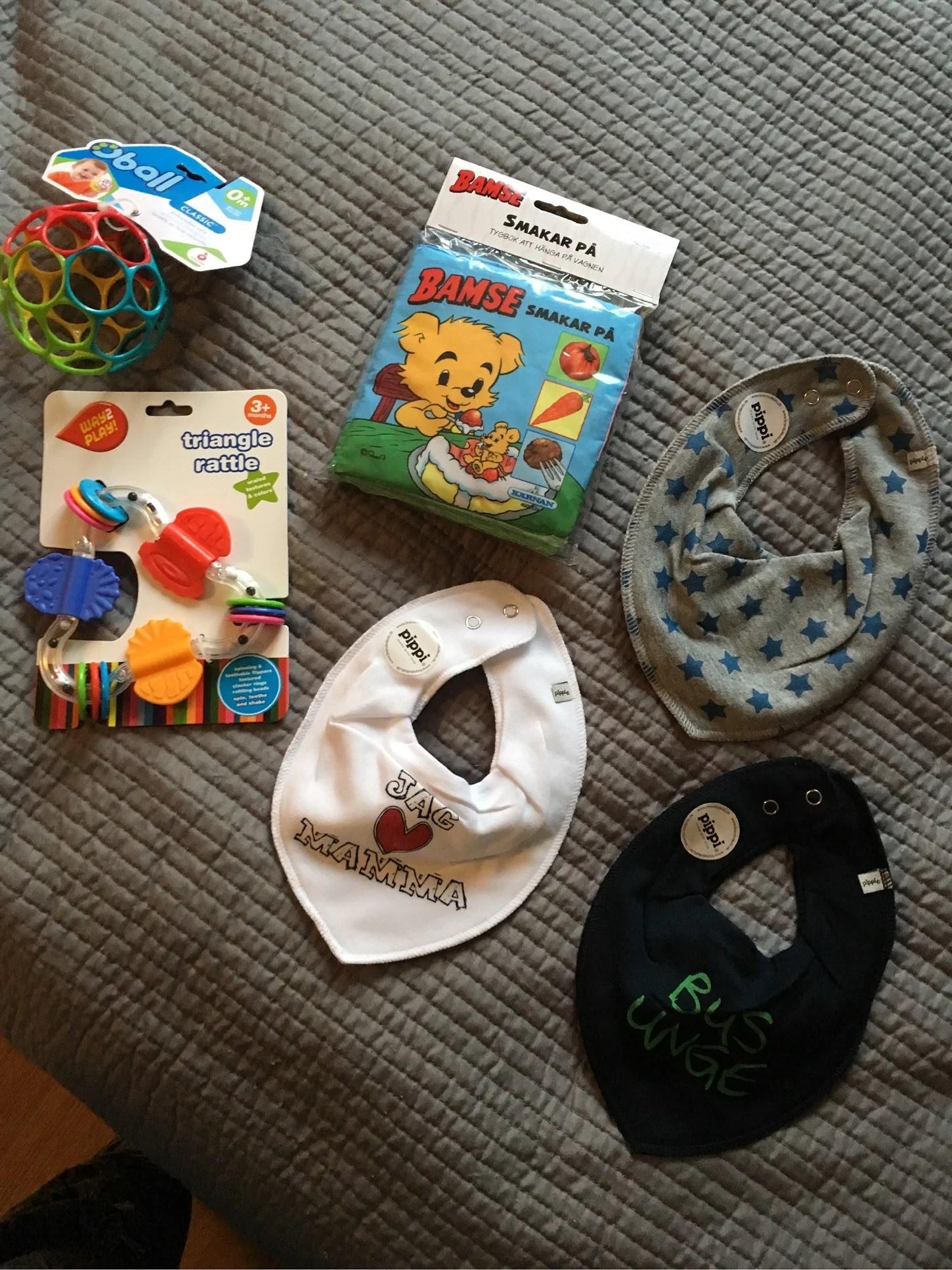 Nya leksaker