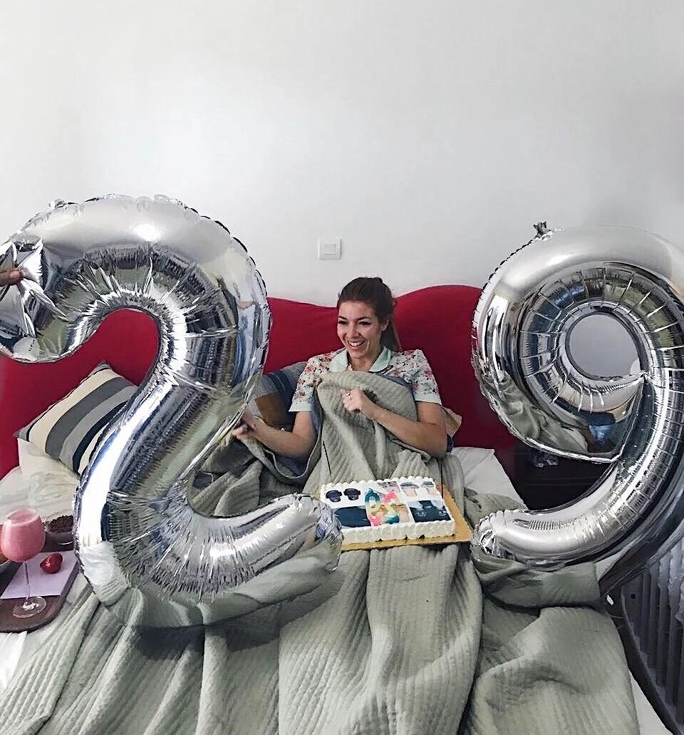 My birthday, sweet 29