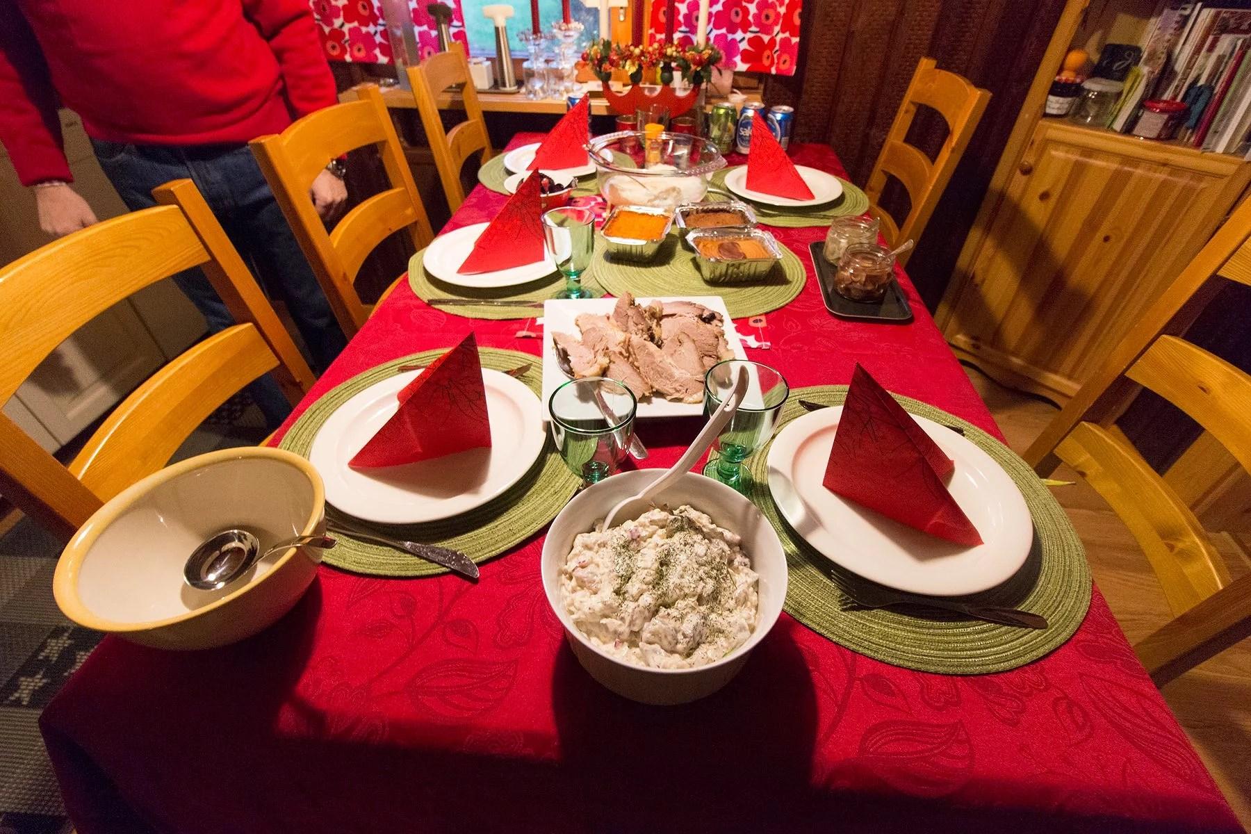 Julafton & juldagens planer
