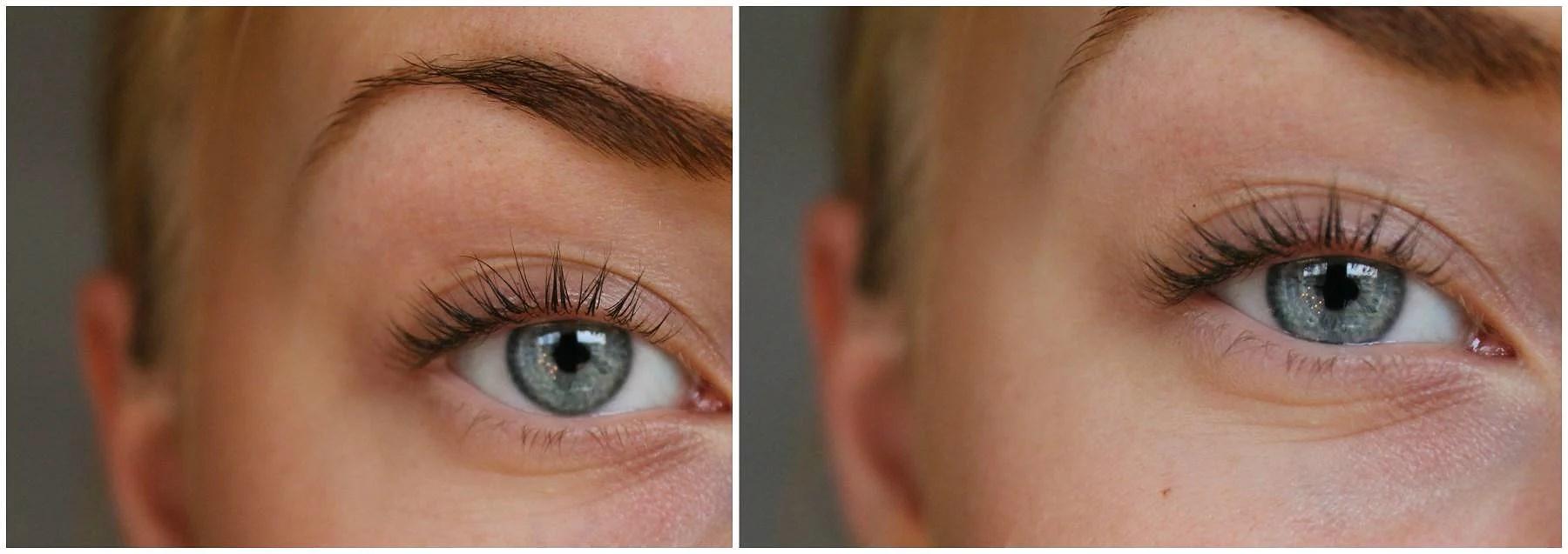 coloran frans och ögonbrynsfärg