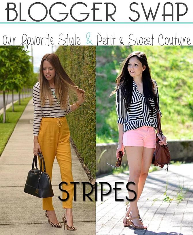 ...Blogger Swap: Stripes...