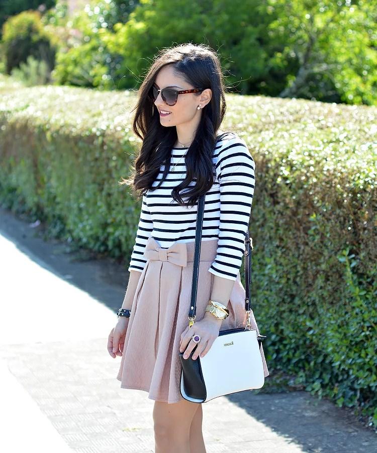 zara_chicwish_ootd_outfit_como_combinar_stripes_falda_09
