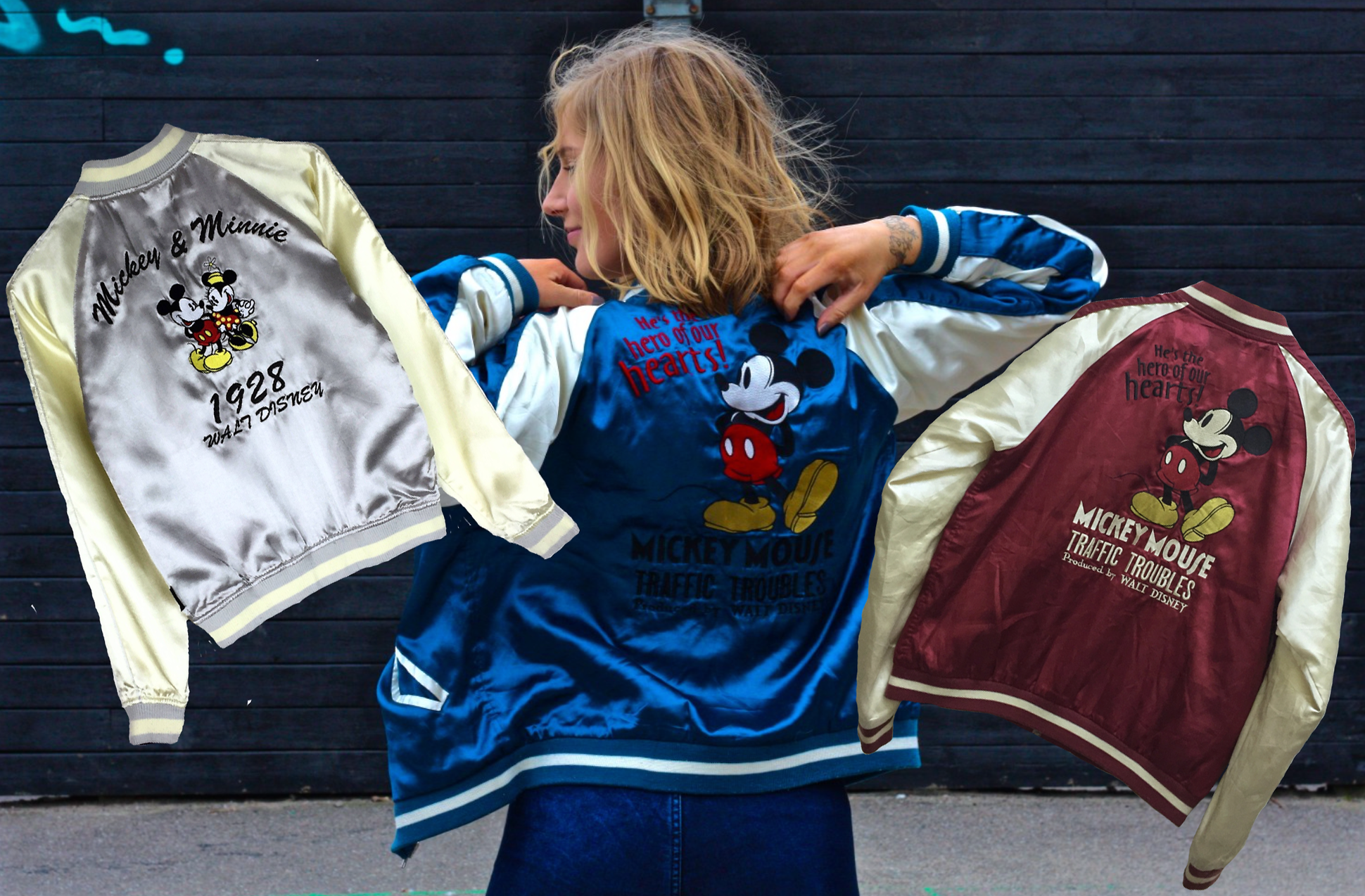Disney Friday: Mickey Bomber Jackets