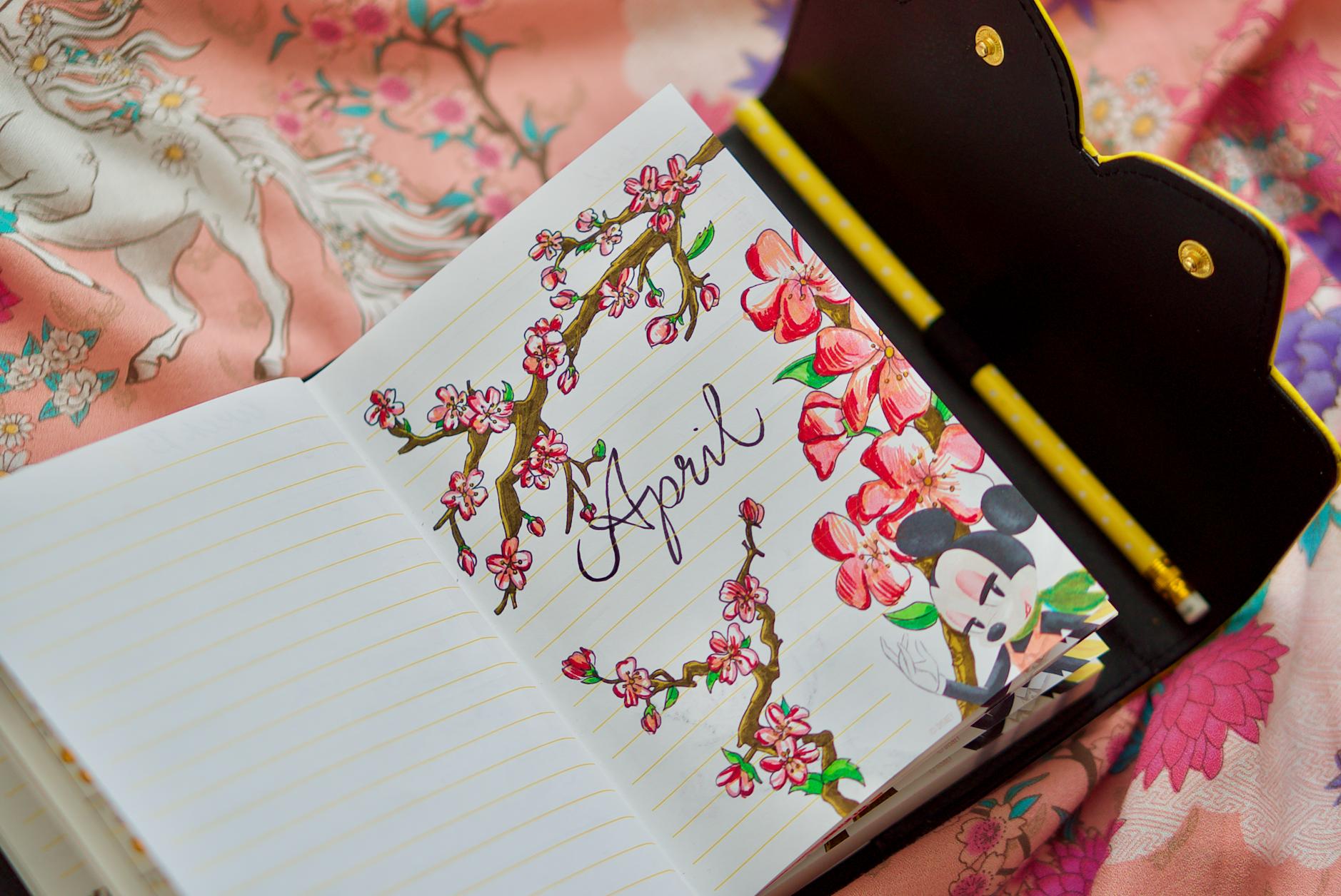 Bullet Journaling: April Pages