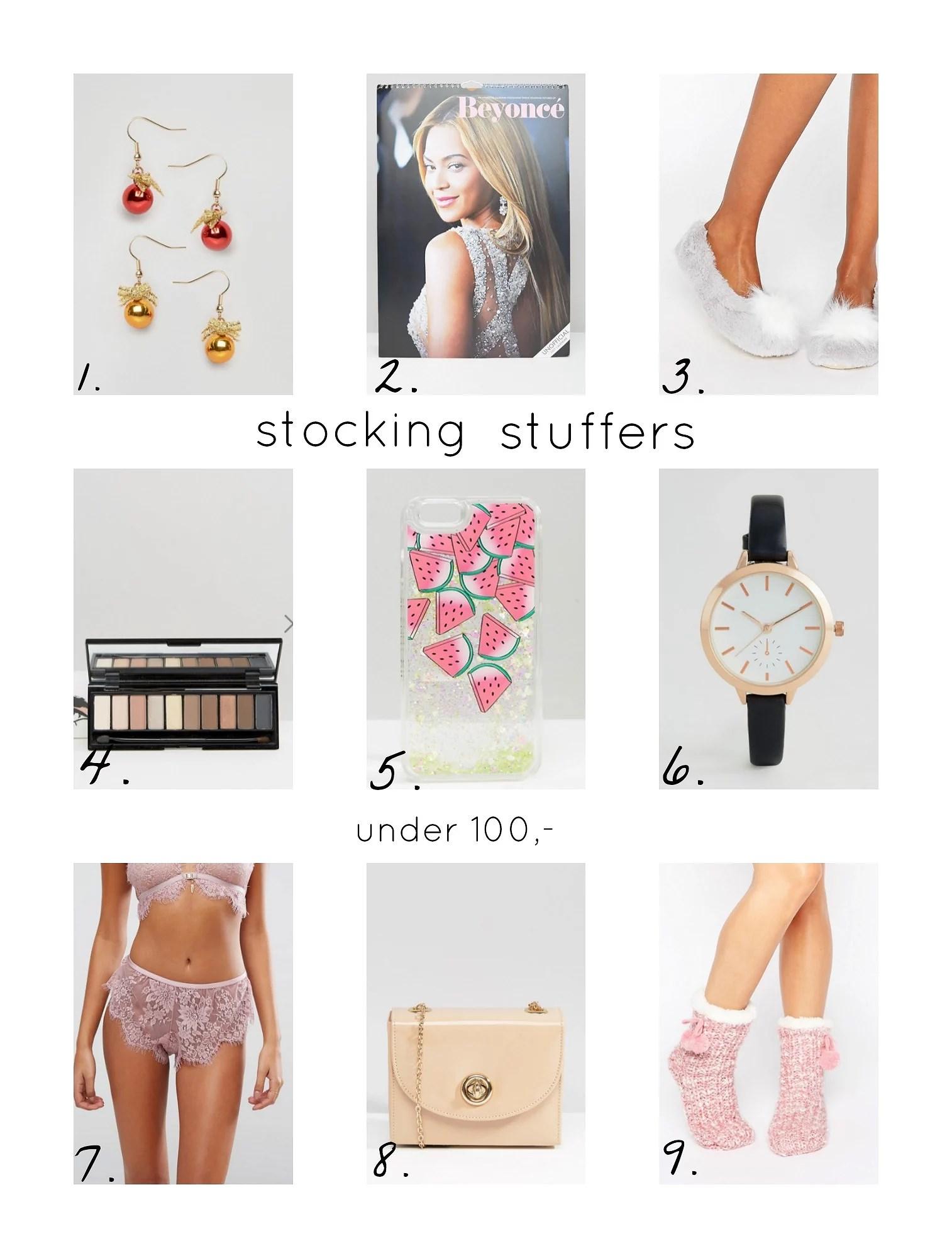Stocking Stuffers - gaver under 100,-