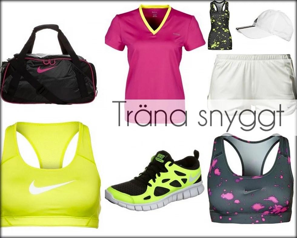 Träna dig snygg med snygga träningskläder