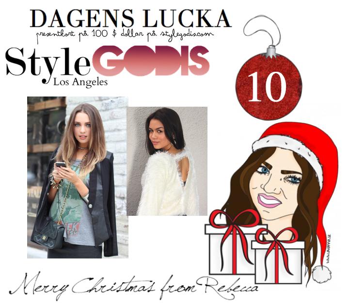 Lucka nr 10: Presentkort på 100$ dollar hos Stylegodis