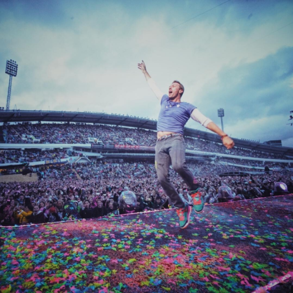 Coldplay på Ullevi