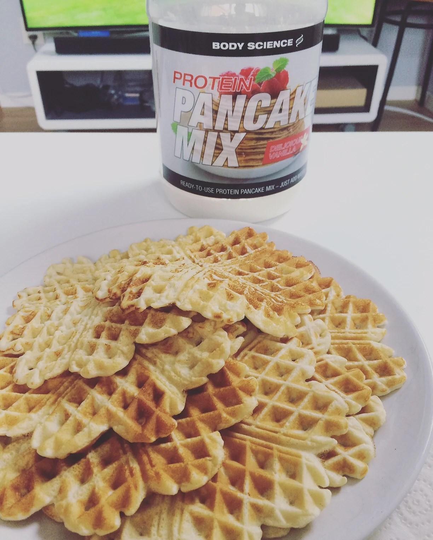 body science pancake mix