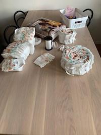 blöjor tårta