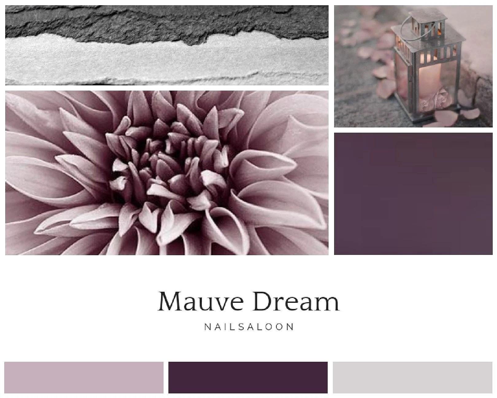 Min första moodboard- Mauve Dream